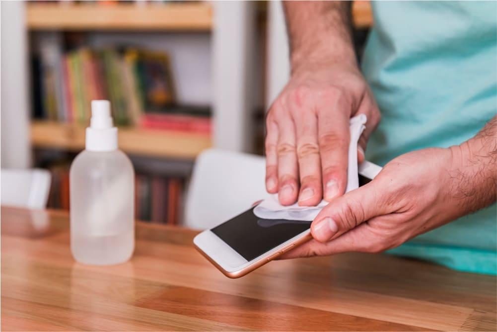 desinfectar dispositivos