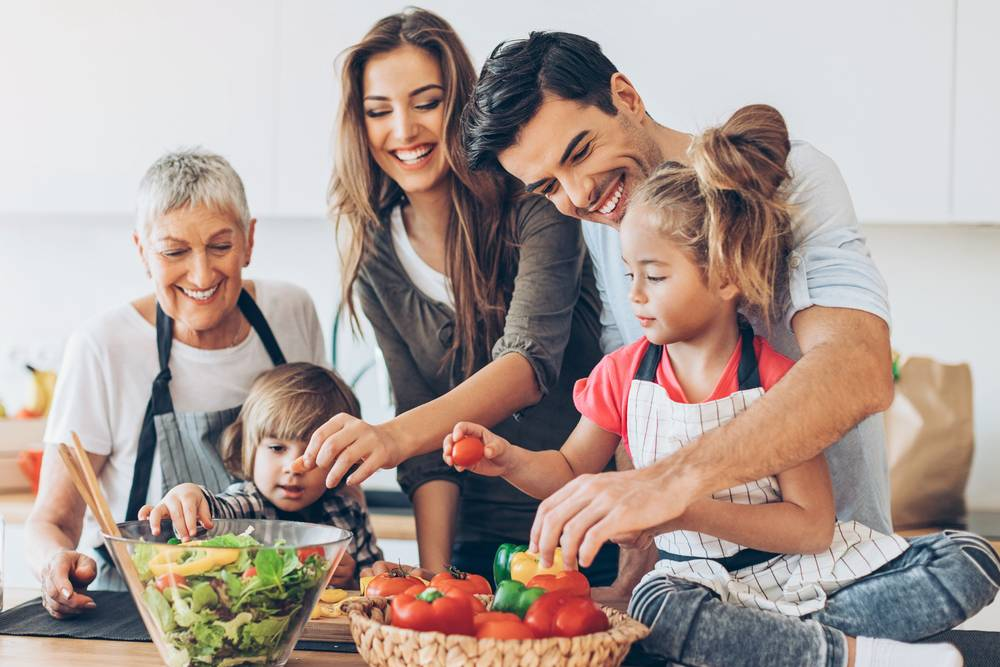 actividades para hacer en casa cocinar en familia