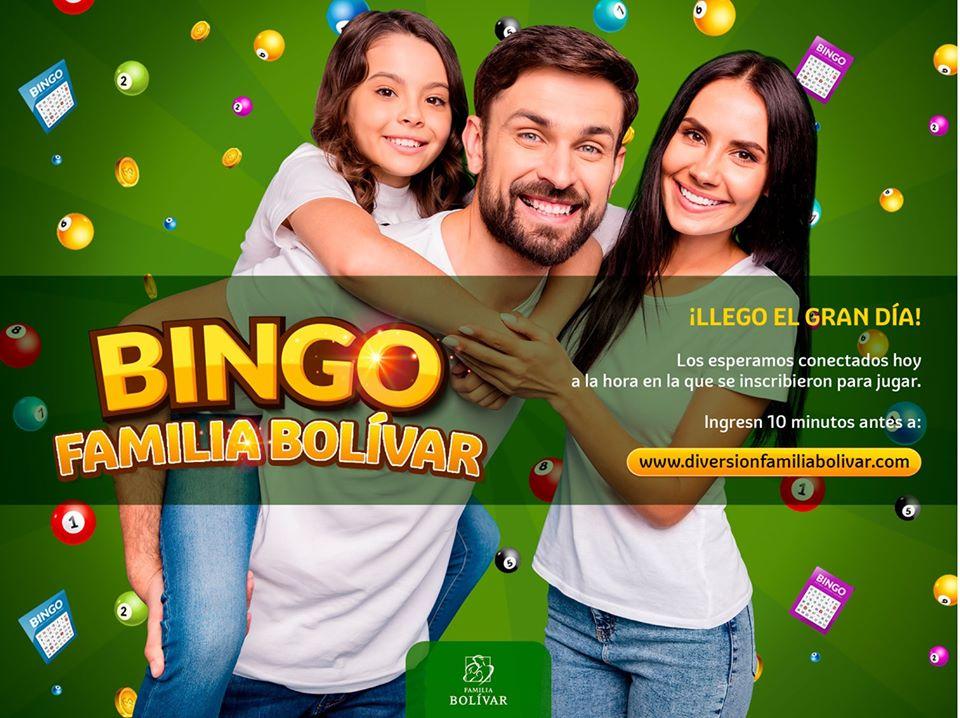 Póster de la actividad Bingo en familia