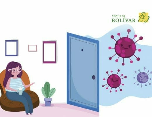 Mujer-en-casa-debido-a-la-pandemia