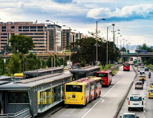 Estación de transmilenio Bogotá