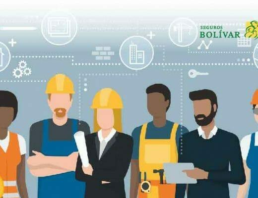 Ilustración seguridad laboral - copasst