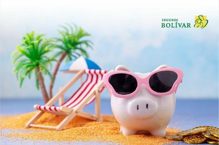 Viajar con poco dinero cerdito para ahorrar